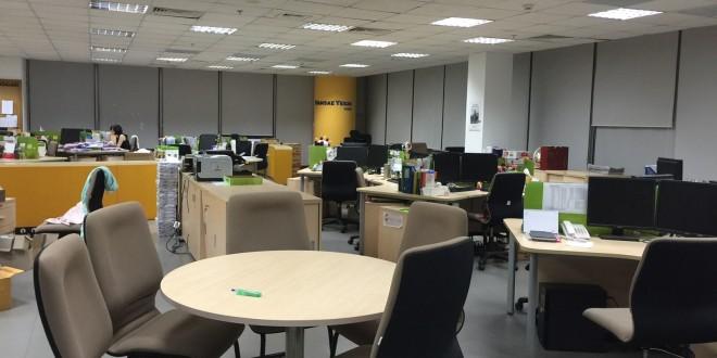 Thi công văn phòng Yes24 Việt Nam