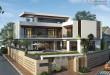 Thiết kế thi công biệt thự góc Lâm Đồng.