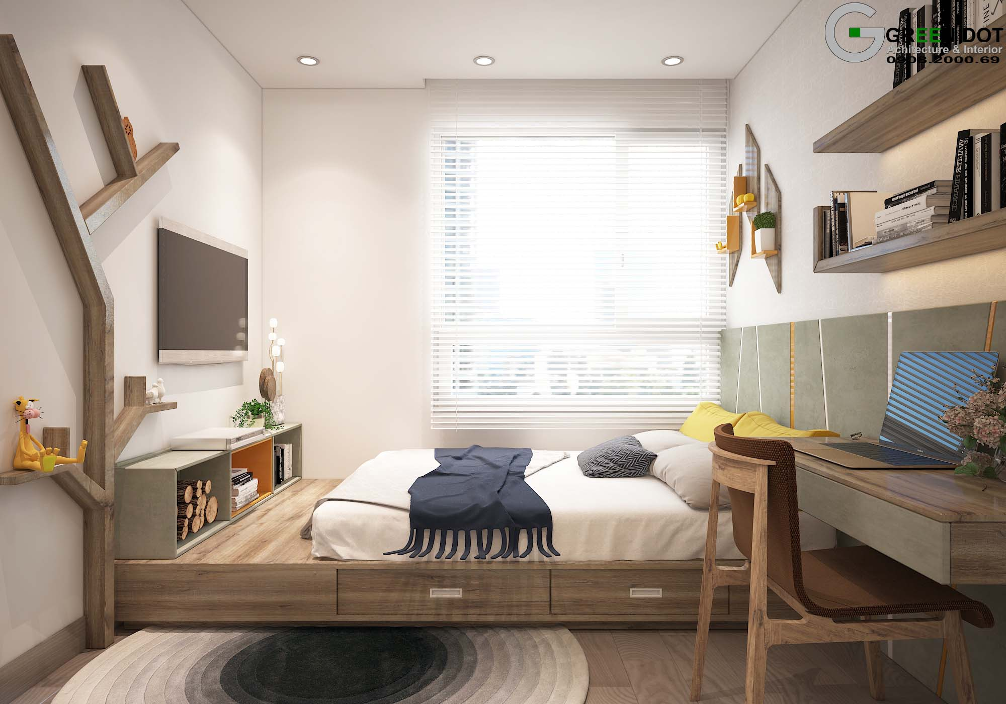 BEDROOM 1C(PA1)