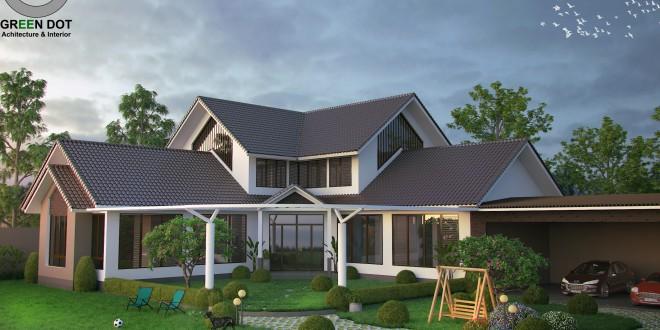 Thiết kế thi công biệt thự Lâm Đồng