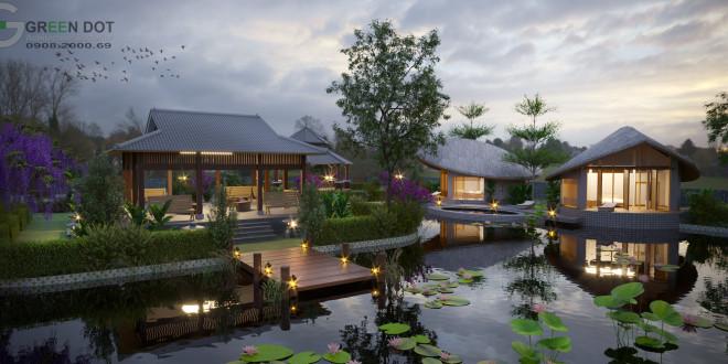 Thiết kế biệt thự nghỉ dưỡng – Vũng Tàu
